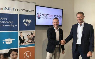 Le prestataire IT neuchâtelois NETmanage investit dans la start-up jurassienne NextDay.Vision