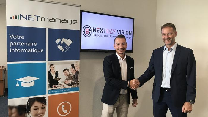 Le prestataire IT neuchâtelois NETmanage investit dans la start-up jurassienne NextDay.Vision