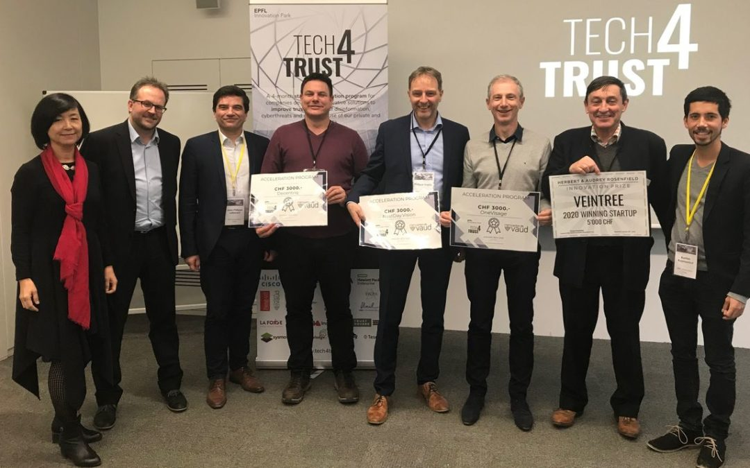 Tech4Trust awards four cybersecurity startups